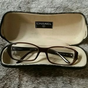 Brown Chanel Eyeglasses